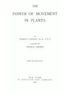 Portada del libro: The power of movement in plants